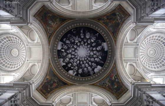 # 25 - Francis Beddok / Paris-Emoi - JR au panthéon